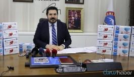 AKP'li Belediye Başkanı, Trump'a ve Hollywood yıldızlarına maske gönderiyor