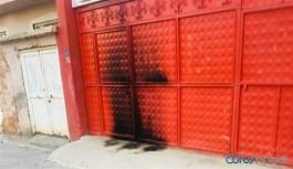 HDP binası ateşe verildi