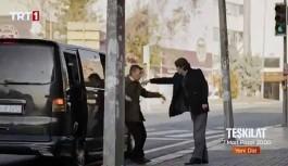 TRT'den 'itiraf' gibi sahne: MİT'i anlatan dizide 'Siyah Transporter'lı kaçırma gösterildi