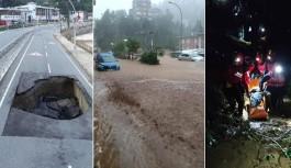 Rize'de sel ve heyelan felaketinde ölü sayısı artıyor