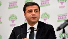 HDP'den Demirtaş hamlesi; TBMM'den derhal genel görüşme talep edildi