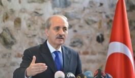 Numan Kurtulmuş'tan Suriye itirafı