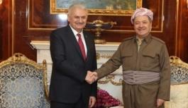 Binali Yıldırım, Barzani buluşması...