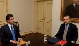 Erdoğan Neçirvan Barzani bugün bir araya...