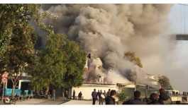 Rumeli Hisarı'nda restoranda yangın