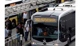 Metrobüs seferleri Silivri'ye kadar...