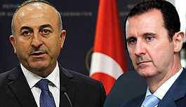 Çavuşoğlu'ndan kritik Esad açıklaması