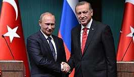 Erdoğan, Putin ile görüştü!