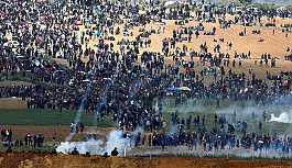 İsrail'in Gazze sınırı gergin, bir Filistinli tank ateşi sonucu öldü