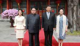 'Kim Jong-un'un eşi, Kate Middleton'ın tarzını kopyalıyor'