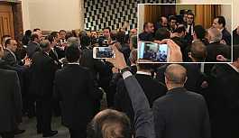 Meclis kulisi karıştı! CHP ve MHP'li vekiller arasında kavga