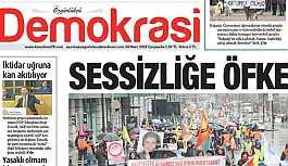 Özgürlükçü Demokrasi Gazetesi'nin binasına polis baskını