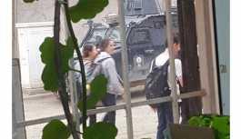 Polis'in tokat attığı öğrenci gözaltına alındı