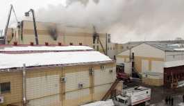 Rusya'da 64 kişinin yaşamını yitirdiği AVM binası kaçak çıktı