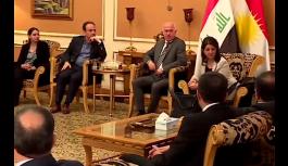 HDP heyeti Kuzey Irak'ta: Gündem ulusal birlik