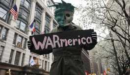 New York'ta ABD ve İsrail'e karşı savaş karşıtı protesto