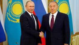 Putin ve Nazarbayev, Suriye'ye saldırıyı kınadı
