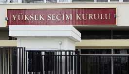 YSK seçime girebilecek partileri açıkladı: İYİ Parti listede