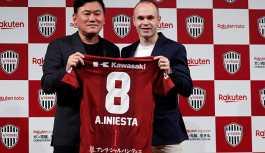 Iniesta, Japon ekibi Vissel Kobe'ye transfer oldu