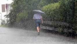 Meteorolojiden 17 şehir için kuvvetli gök gürültülü sağanak uyarısı