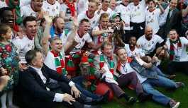 Rusya'da şampiyon 14 yıl sonra Lokomotiv Moskova