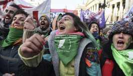 Arjantin parlamentosunda 'kürtaj hakkı' tasarısı kabul edildi