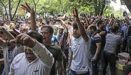 İran'ın başkentinde grev, protesto...