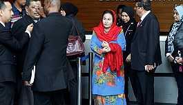 Malezya'nın eski başbakanı Rezak'ın eşine 3 saatlik sorgulama