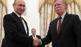 Putin, Trump'ın Ulusal Güvenlik Danışmanı Bolton'la görüştü
