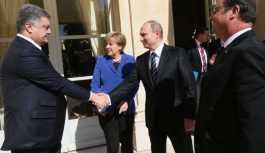Putin ve Poroşenko bir ay içinde ikinci kez görüştü
