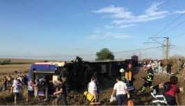 CHP'den Tekirdağ'daki tren faciasına ilişkin rapor: Adım adım ihmaller zinciri