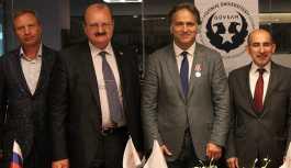 GÜVSAM Başkanı İsmail Safi, Rus Devlet Nişanı Palmira Madalyası'na layık görüldü