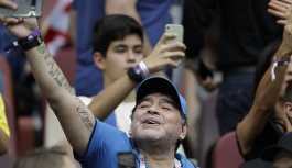 Maradona'dan Abbas'a: Kalben Filistinliyim