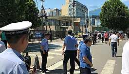 Pekin'deki ABD Büyükelçiliği yakınında patlama iddiası