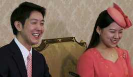 Prenses Ayako'nun müstakbel kocasını takdimidir