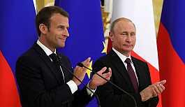 Putin ile Macron, Suriye çözümünün...