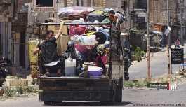 Suriye'de sığınmacılar yaşadıkları yerlere dönüyor