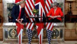 Trump'tan önüne kırmızı halılar seren May'e 'sabotaj'