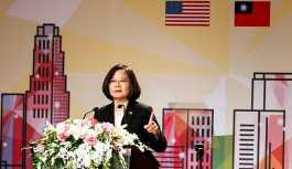15 yıl sonra ilk kez bir Tayvan lideri ABD'de konuştu