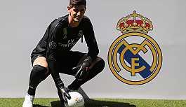Belçikalı file bekçisi Courtois, Real Madrid'de
