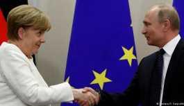 Merkel-Putin görüşmesinde ortak konu Trump