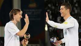 Ronaldo, eski takım arkadaşı Modric'in 'Avrupa'da Yılın En İyi Futbolcusu' seçilmesine 'öfkelenmiş'