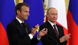Rus Büyükelçilikten 'Macron ruhunu Putin'e sattı' diyen yazıya alaylı yanıt