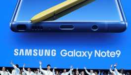 Samsung yeni ürünü Galaxy Note9'u tanıttı