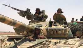 'Suriye ordusu, Tulul Safa'da IŞİD'in son kalesini kuşattı'