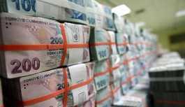 Hazine 2.2 milyar lira borçlandı