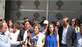 HDP'li  Kerestecioğlu polis tarafından tartaklandı
