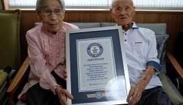Japonya'da 80 yıldır evli olan çift Guinness'e hak kazandı: Sabrım sayesinde
