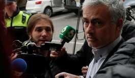 Mourinho ertelenmiş 1 yıl hapis cezasına razı oldu