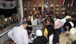 Suriye'nin çok büyük bölümünde yerel seçimler düzenlendi